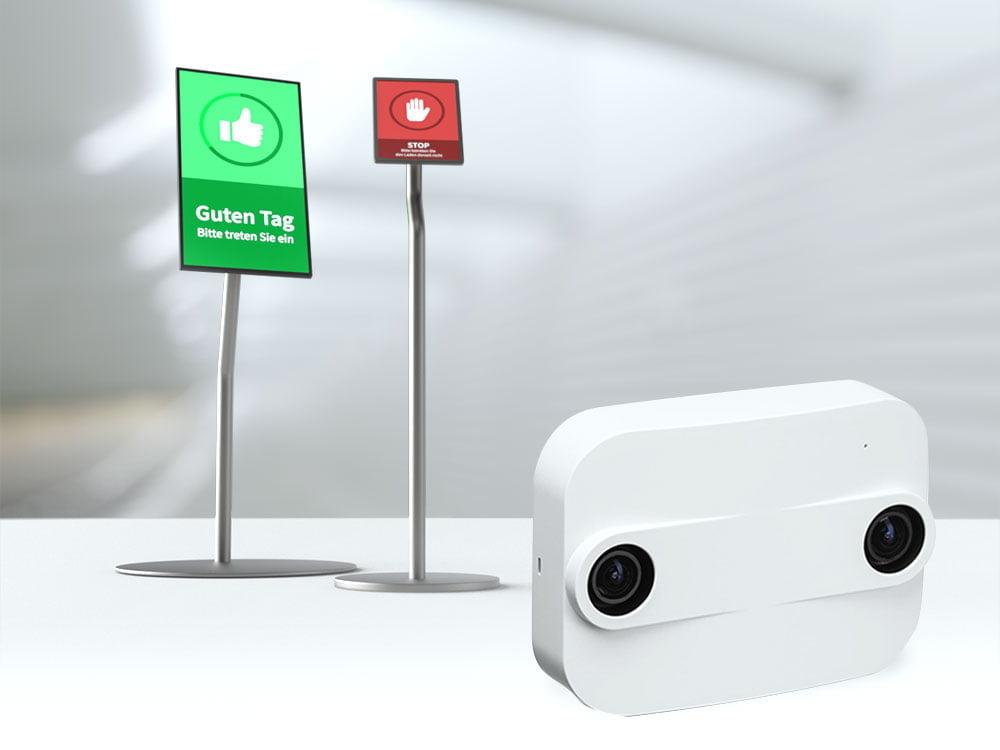Ausfallsichere D Sensoren und geringer Installationsaufwand sorgen für eine Zuverlässige Zutrittskontrolle