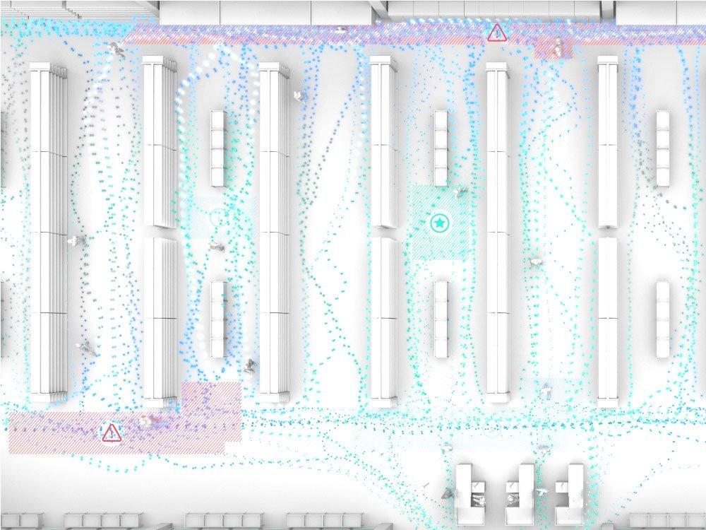 Ausfallsichere 3D Sensoren und geringer Installationsaufwand sorgen für eine zuverlässige Besucheranalyse