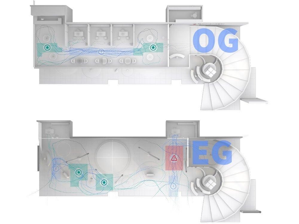 Ausfallsichere 3D Sensoren und geringer Installationsaufwand sorgen für eine zuverlässige Besucheranalyse auf Ihrem Messestand