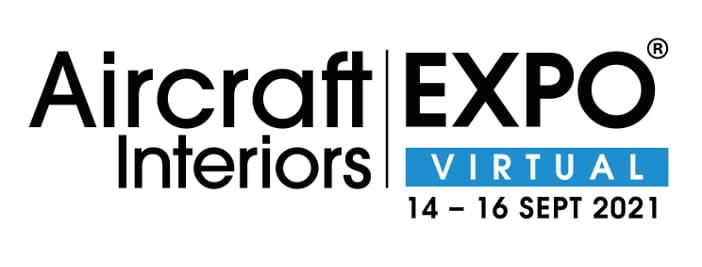 Logo der Aircraft Interiors Expo AIX